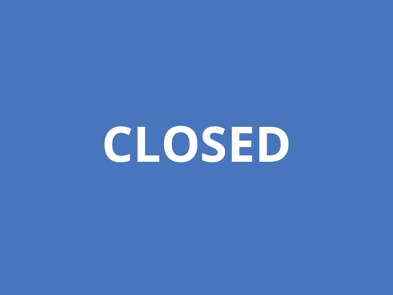 Закрыто