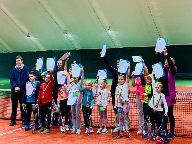 Минифестиваль по теннису для детей плюс тинейджеры